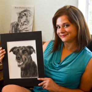 Artist Inspired By Rescued Canyon Puppy